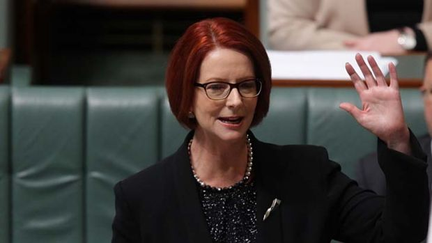 Time for Prime Minister Julia Gillard to wave goodbye to office.