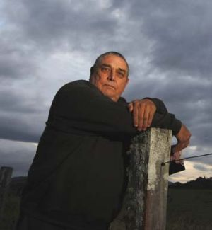 Vanessa Hoson's father, Keith: Battled to keep his daughter's killer in prison.