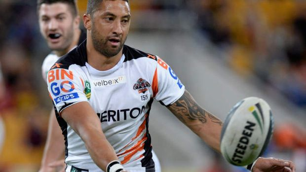 Concentrating on his game: Benji Marshall.
