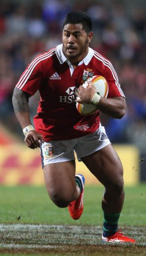 He's back: Manu Tuilagi will play against the Rebels.