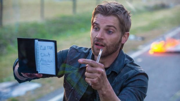 Mike Vogel in <i>Under the Dome</i>.