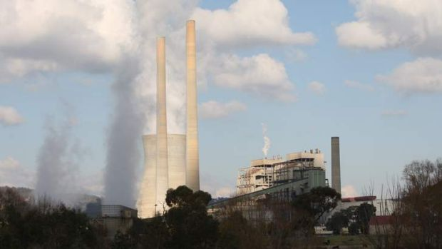 Closure touted: The Greens envision shutting down a unit at Wallerawang power station in the central tablelands by 2017.