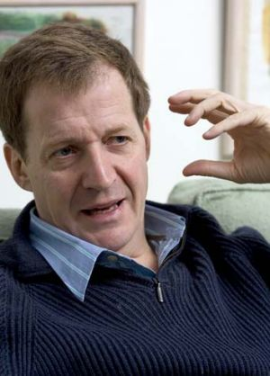 Helping hand: Alastair Campbell.