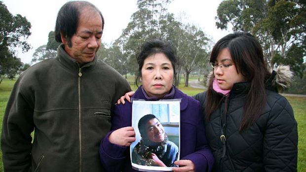 Felix Hua's family mourn their son and brother.