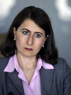 Gladys Berejiklian, NSW Minister for Transport.