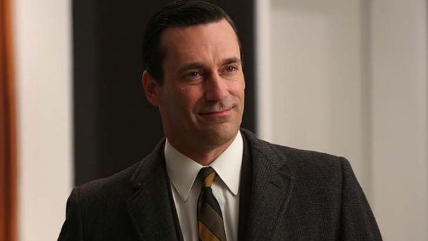 Haunted by the past: Don Draper (Jon Hamm).