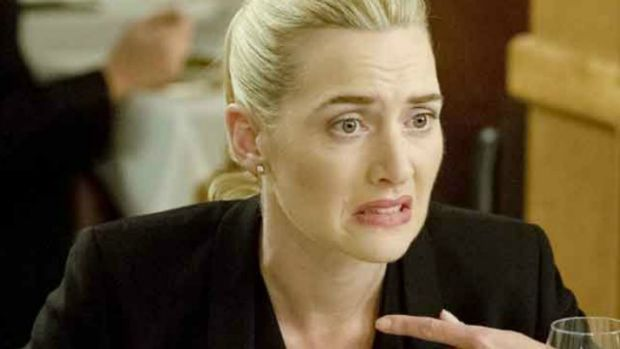 "Kate Winslet in the film ""Movie 43""."