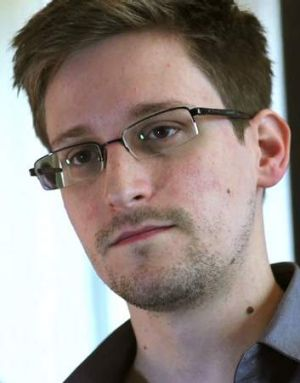 NSA whistleblower Edward Snowden.