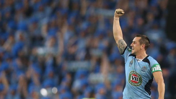 Time to step up: Mitchell Pearce.