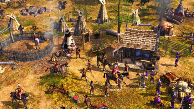 A screengrab from Age of Empires.