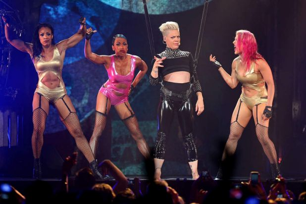 Pink performs live for fans at Perth Arena on June 25, 2013 in Perth, Australia.