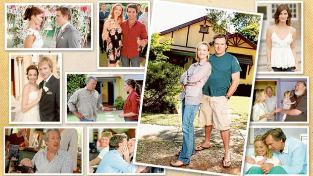 <i>Packed to the Rafters</i> offered an affectionate portrait of a decent middle-class Aussie family.