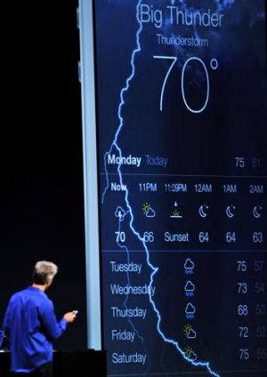 Smarter by degrees: Apple's new iOS7.