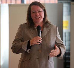 Mary Wooldridge, pictured last year.