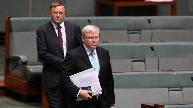 Kevin Rudd: tipped to ditch fixed carbon price.