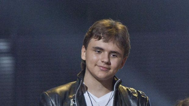 Prince Jackson at the Michael Forever the Tribute Concert, at the Millennium Stadium in Cardiff, Wales.