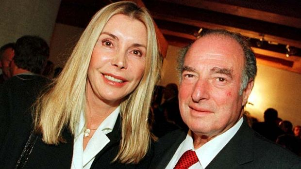 Marc Rich and his wife Gisela.