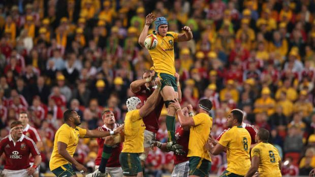 Needs a partner: Wallabies skipper James Horwill shoulders a heavy load and needs more support from his under-performing ...