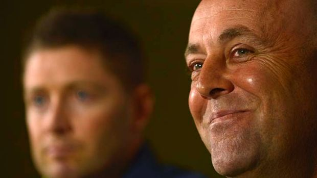In charge: Darren Lehmann is employing a similar approach to the one he has used with Queensland.