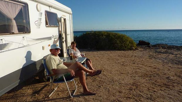 """Life's one big holiday for us now that we're retired"": John and Elaine Tickner spend months at a time travelling ..."