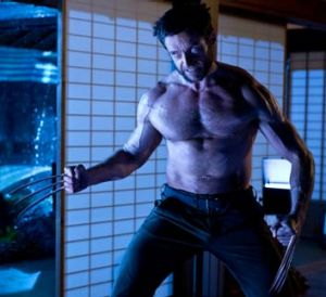 Jackman as <i>The Wolverine</i>.
