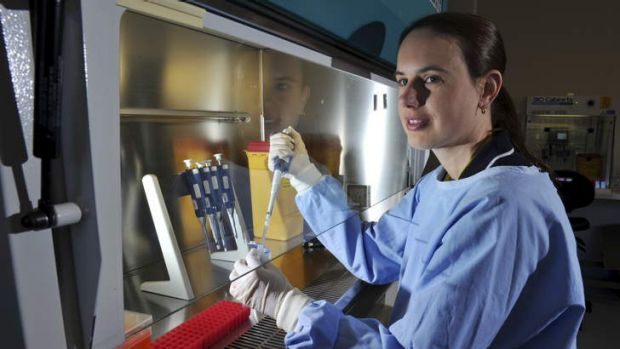 Michelle Gahan, an assistant professor of forensic studies at the University of Canberra, is trying to develop a test ...