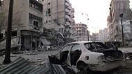 Homs reduced to rubble (Video Thumbnail)