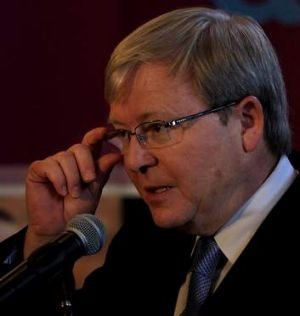 The public service may escape wholesale change despite Prime Minister Kevin Rudd's extensive reshuffle.