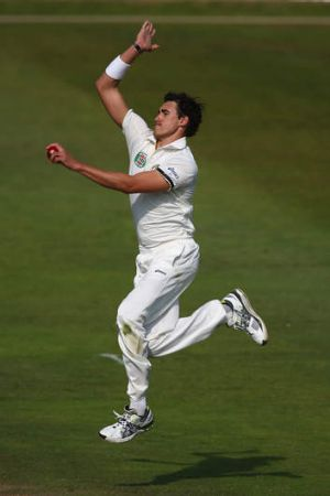 Part of the masterplan: Mitchell Starc.