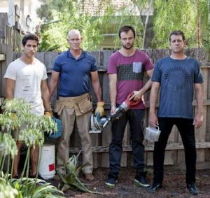 Contrast: <i>House Husbands'</i> four stay-at-home dads.
