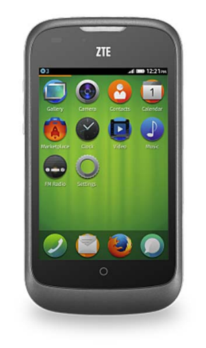 The ZTE Open is the first smartphone to rely entirely on web-based technology.