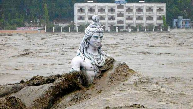 India's Uttarakhand state was hit with severe flooding last month.