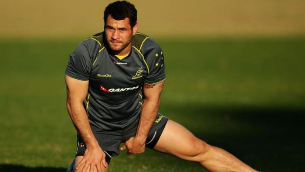 He's back: Wallabies veteran George Smith will return for the Lions series decider.