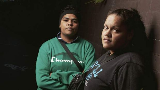 """We do have ethics, you know"" … Leeyah (at left) and Jamie, who were teenagers when they were charged with carjacking ..."