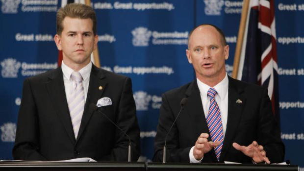 Premier Campbell Newman and Attorney-General Jarrod Bleijie are facing a defamation claim stemming from Mr Newman's ...