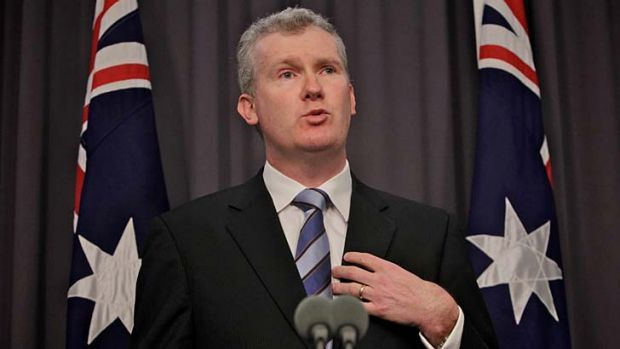 "New Immigration Minister Tony Burke: ""You need to be nimble and you need to be able to adjust your policy settings."""