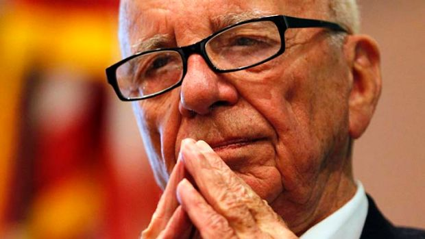 """Still, I mean, it's a disgrace. Here we are, two years later, and the cops are totally incompetent"" ... Rupert Murdoch."