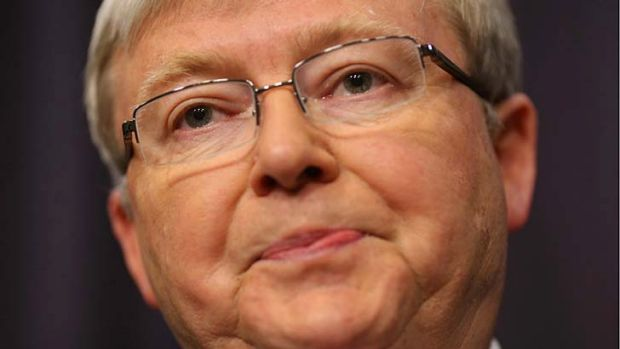 Prime Minister Kevin Rudd: ''Today, more than ever, Australians demand to know that the Prime Minister they elect, is ...