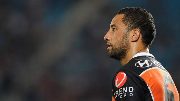 Benji Marshall: Wests Tigers will only upgrade his existing two-year deal. Photo: Getty Images