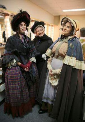 The Cinderella gents' ensemble.