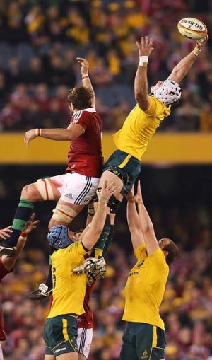 """""""You definitely get a feeling when you are starting to run over sides"""": Ben Mowen."""