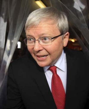 """Kevin Rudd has been on the record supporting measures that give members more say."""