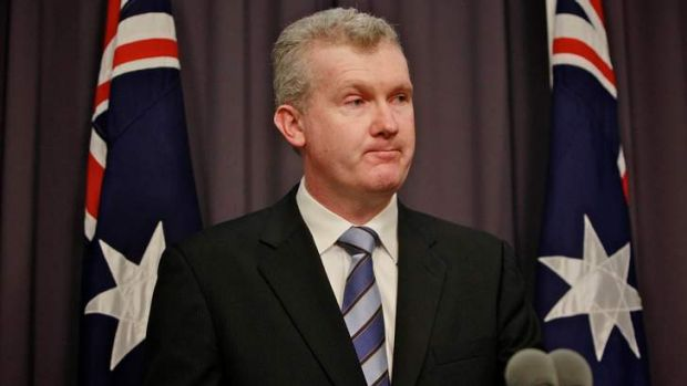 Immigration Minister Tony Burke.