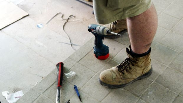 Dealing with tradespeople is an exercise in frustration.