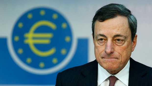 """""""It's not six months, it's not 12 months. It's an extended period of time"""" ... Mario Draghi, president of the ECB."""