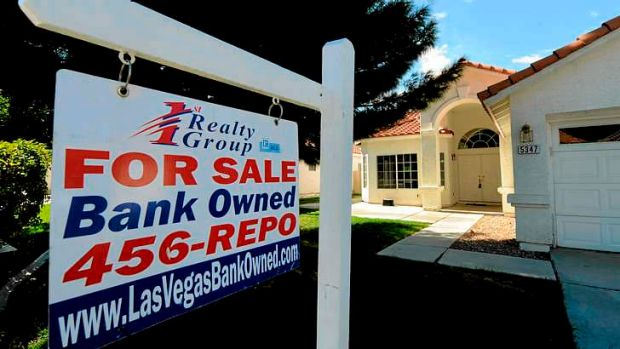 Las Vegas home owners were hard hit when property prices fell in the GFC.