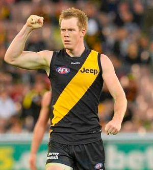 "Jack Riewoldt: ""Hopefully for the Richmond faithful out there I can be putting pen to paper soon."""