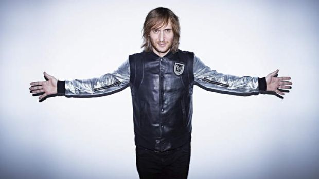 One of the headline acts: David Guetta.