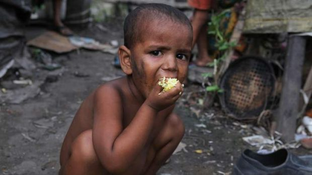 India has more poor than all of Africa.
