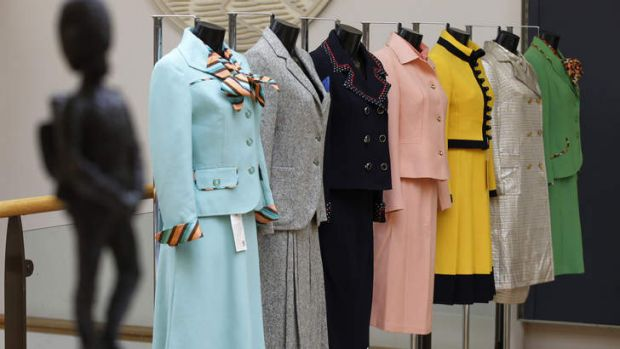Charles Moore wraps Margaret Thatcher in gendered imagery in his biography. Some of her business suits were sold at ...